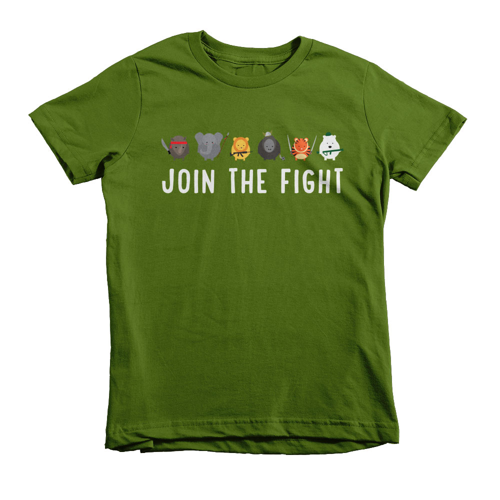 Join the Fight Kids - Olive