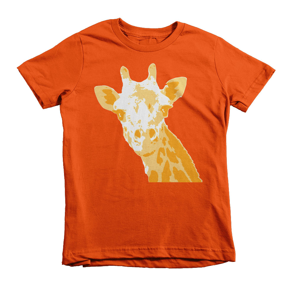 Giraffe Kids - Orange