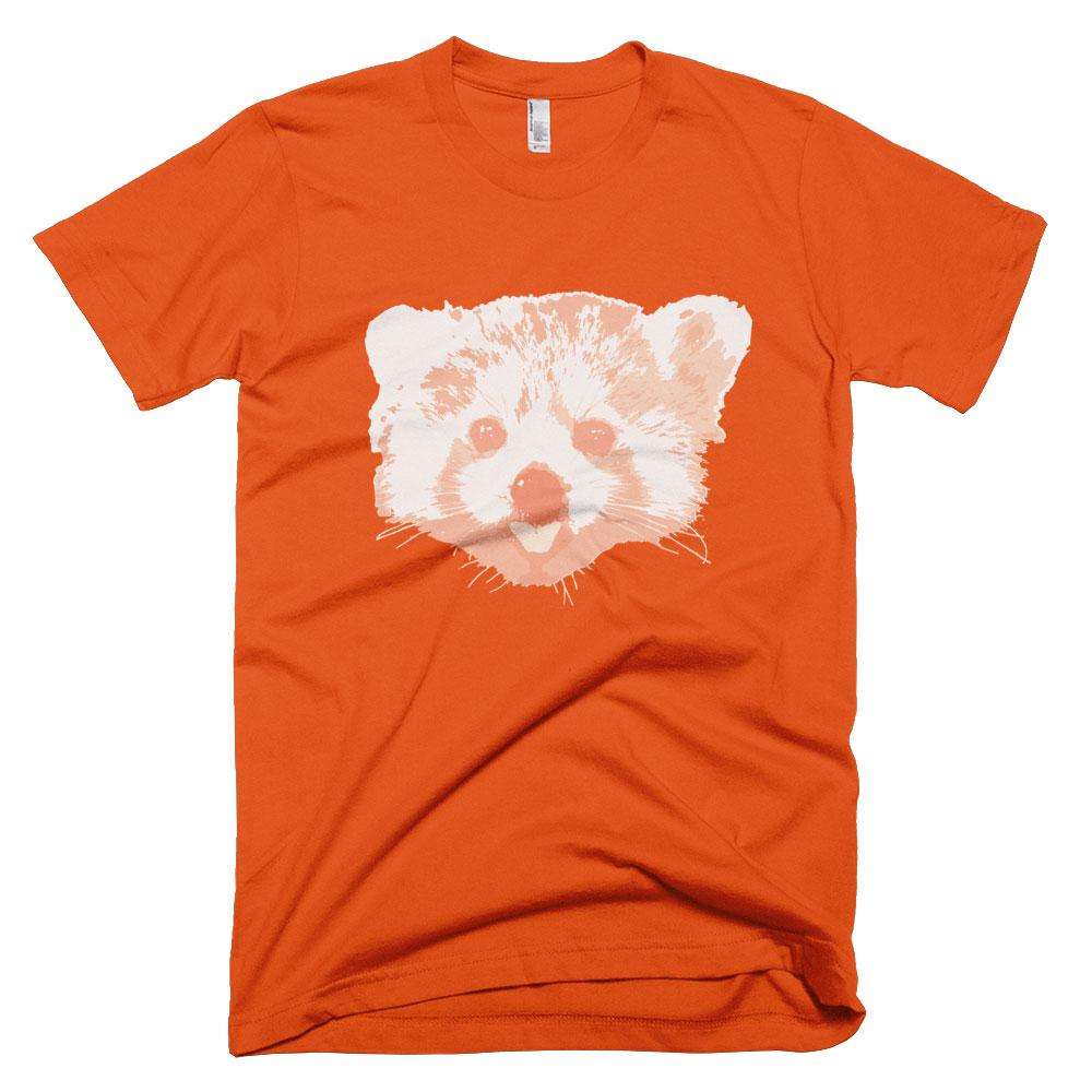 Red Panda Mens - Orange
