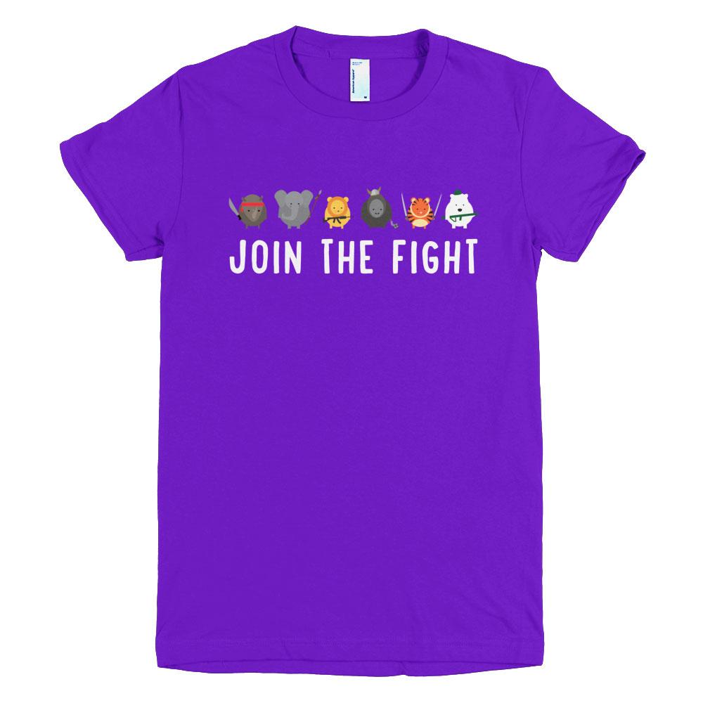 Join the Fight Women - Purple
