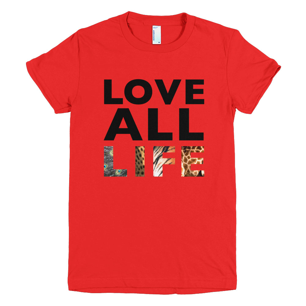 Love All Life Women - Red