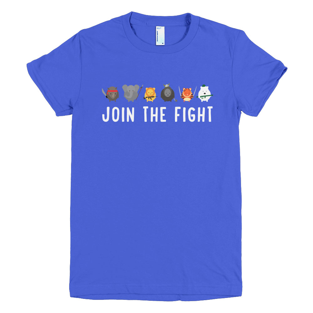 Join the Fight Women - Royal Blue