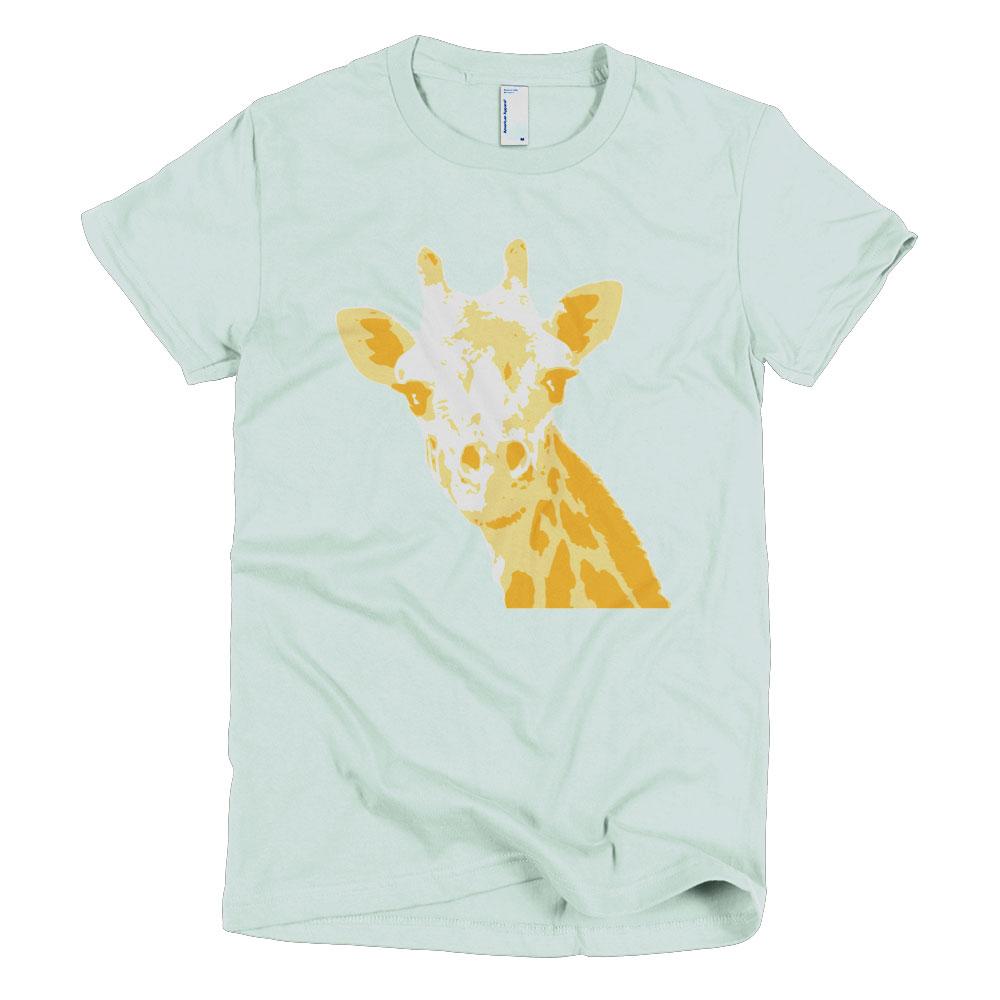 Giraffe Women - Sea Foam