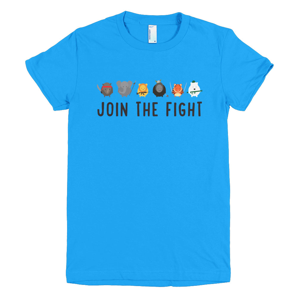 Join the Fight Women - Teal