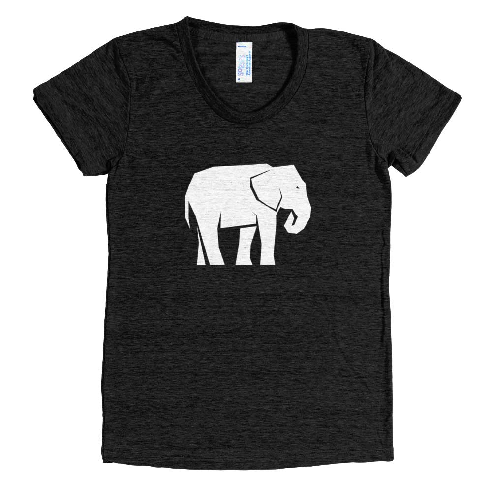 Elephant Habitat Women - Tri-Black