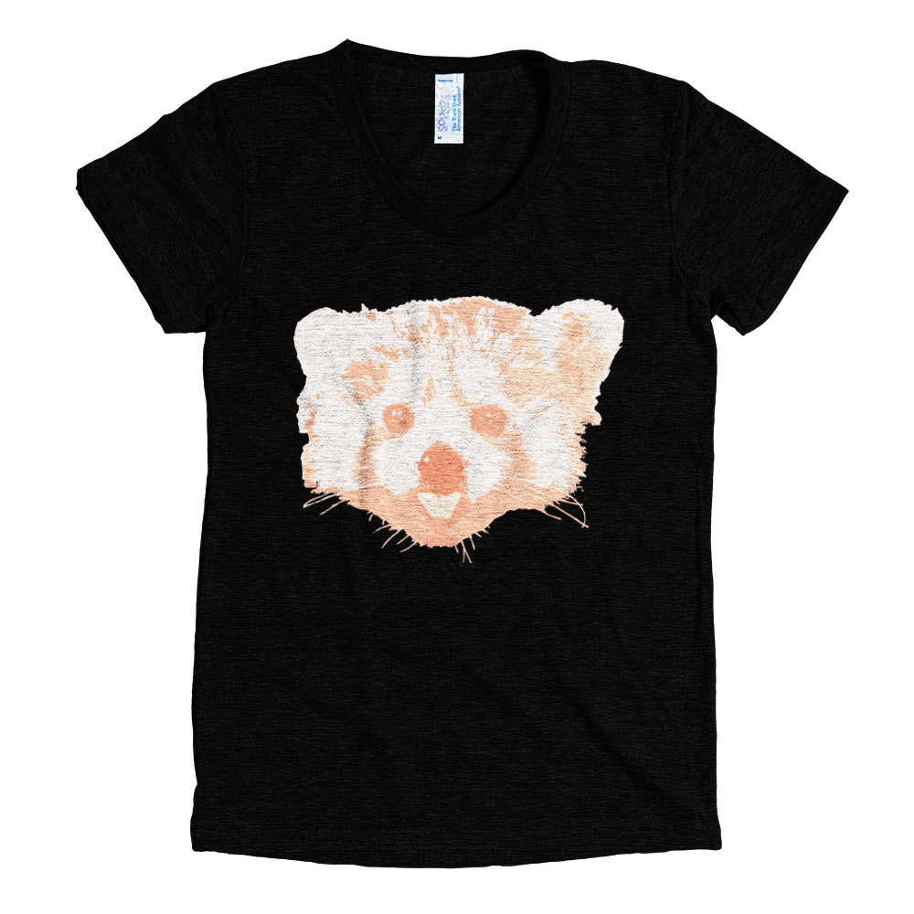 Red Panda Women - Tri-Black