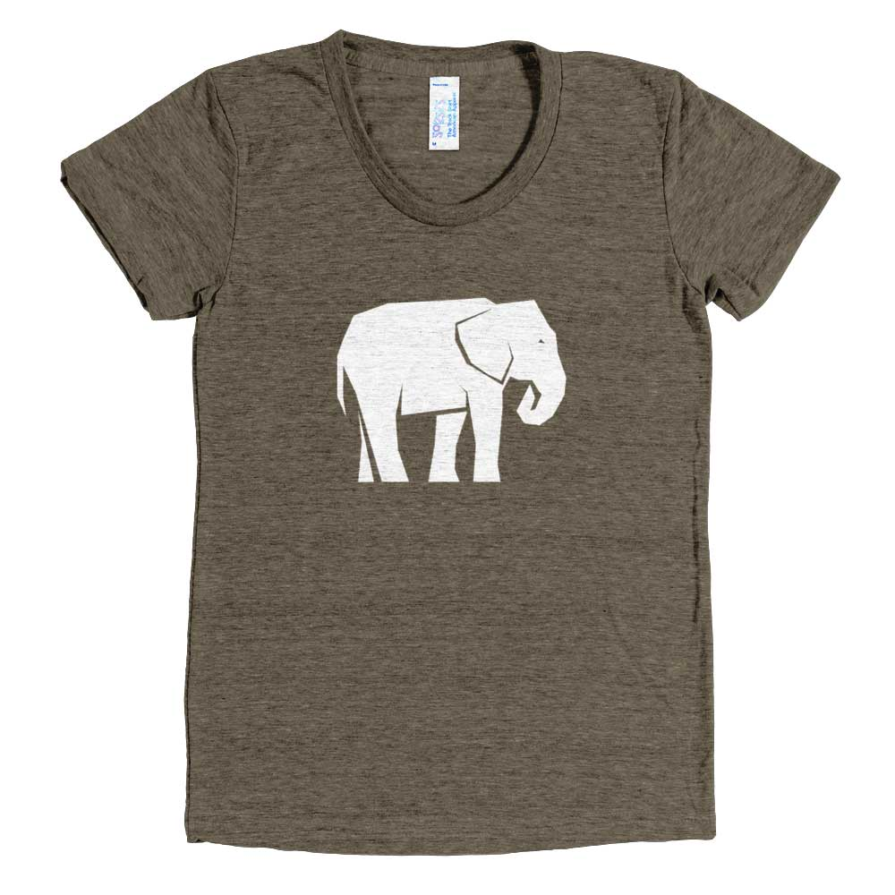Elephant Habitat Women - Tri-Coffee