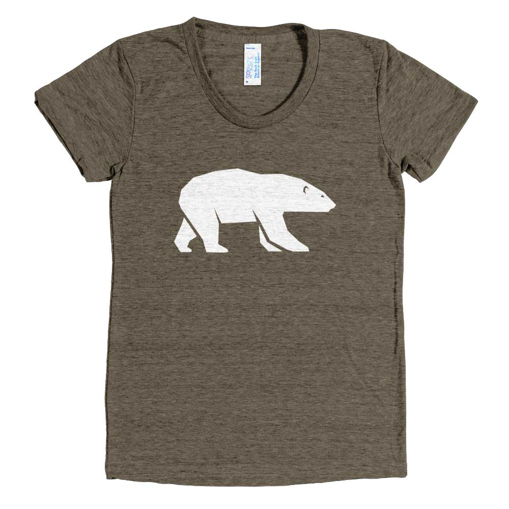 Polar Bear Tri-Blend T-Shirt Women