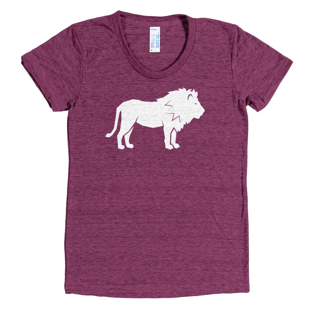 Lion Women - Tri-Cranberry