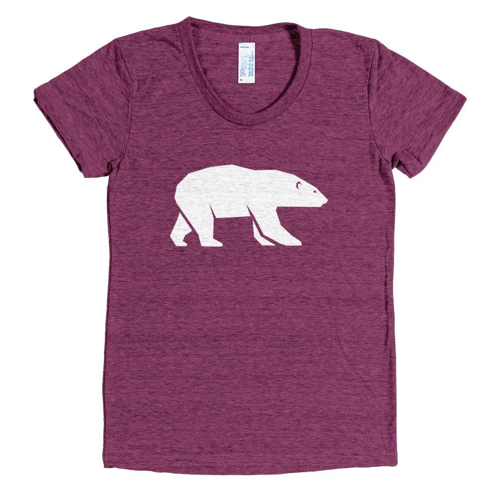 Polar Bear Women - Tri-Cranberry