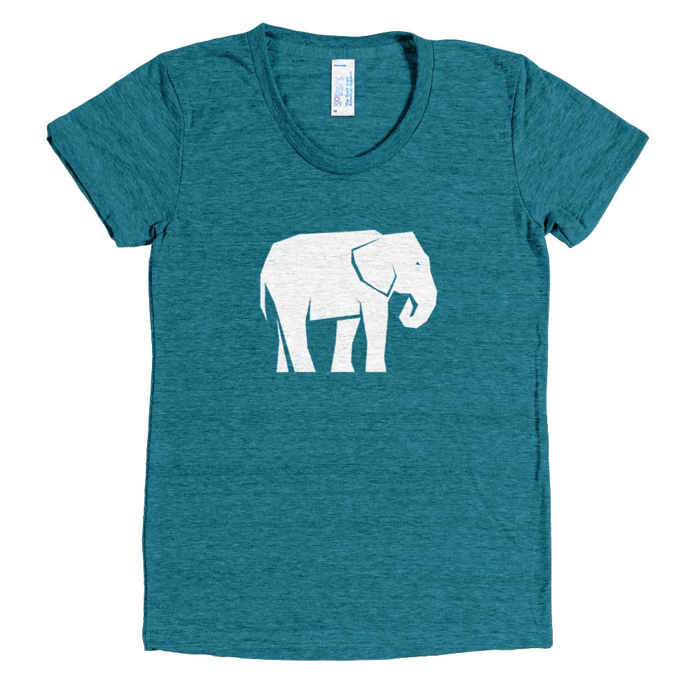 Elephant Habitat Women - Tri-Evergreen