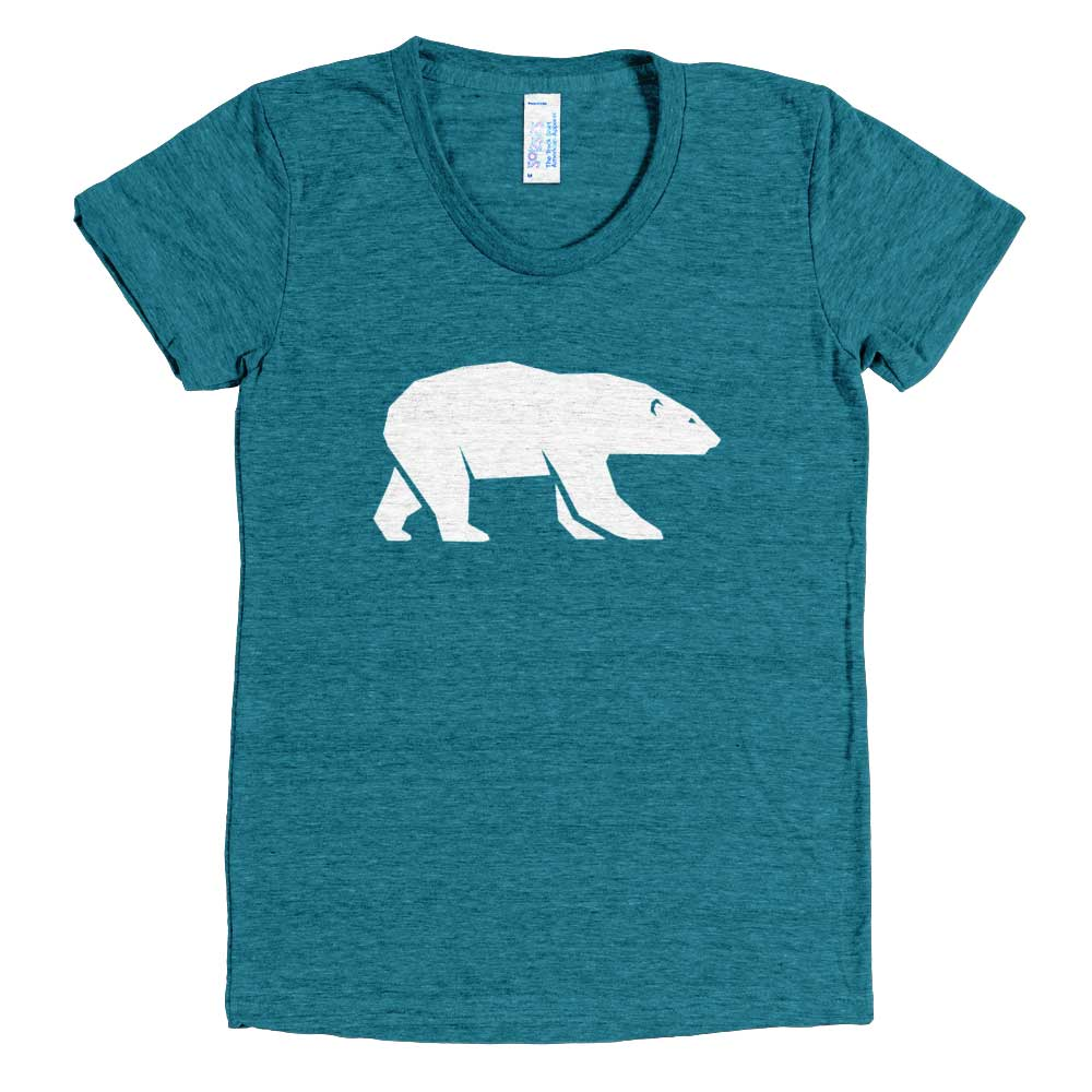 Polar Bear Women - Tri-Evergreen