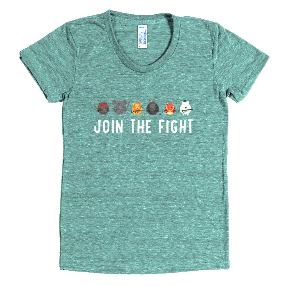 Join the Fight Womens - Tri-lemon