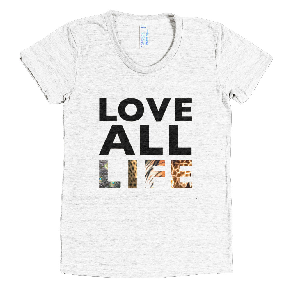 Love All Life Women - Tri-Oatmeal