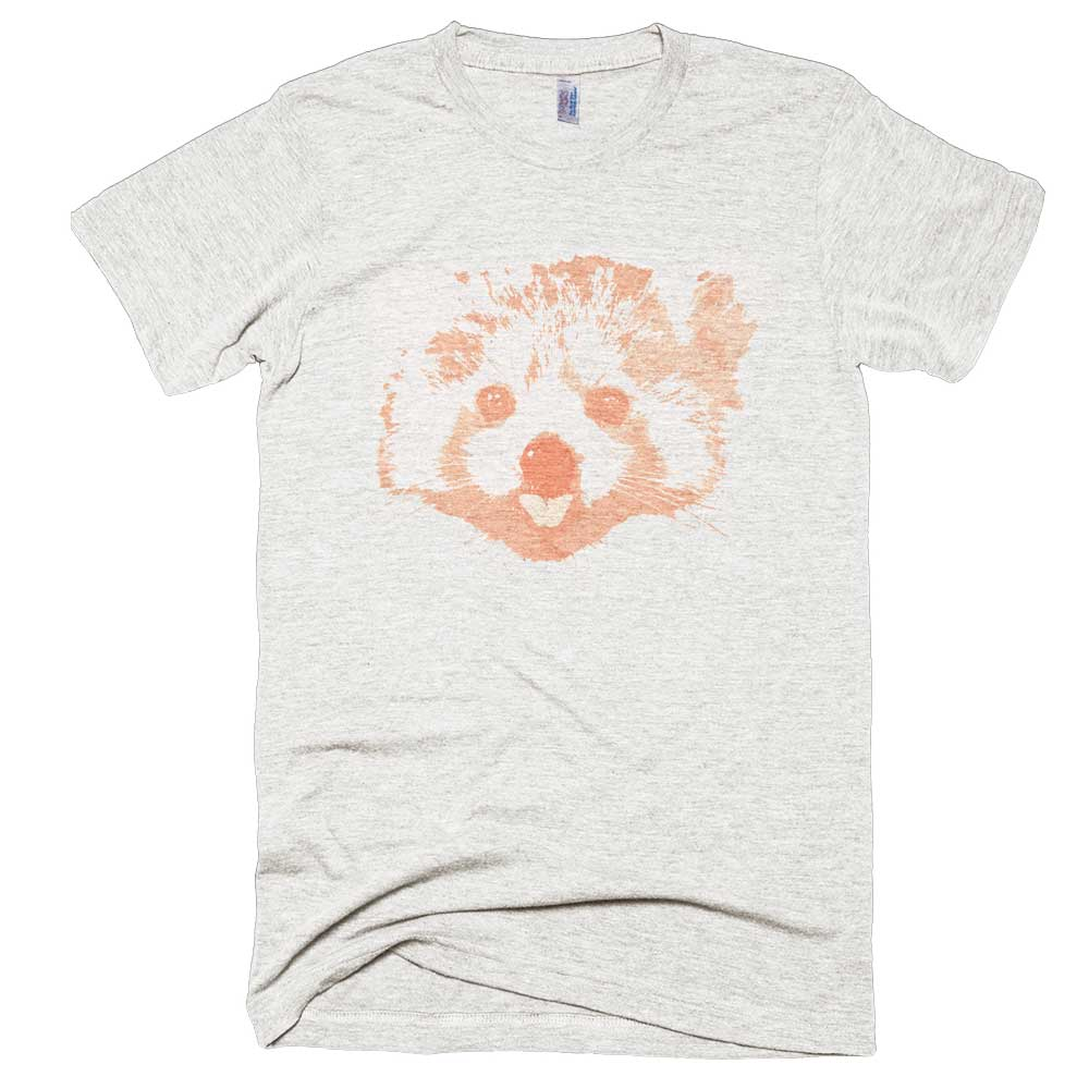 Red Panda Mens - Tri-Oatmeal
