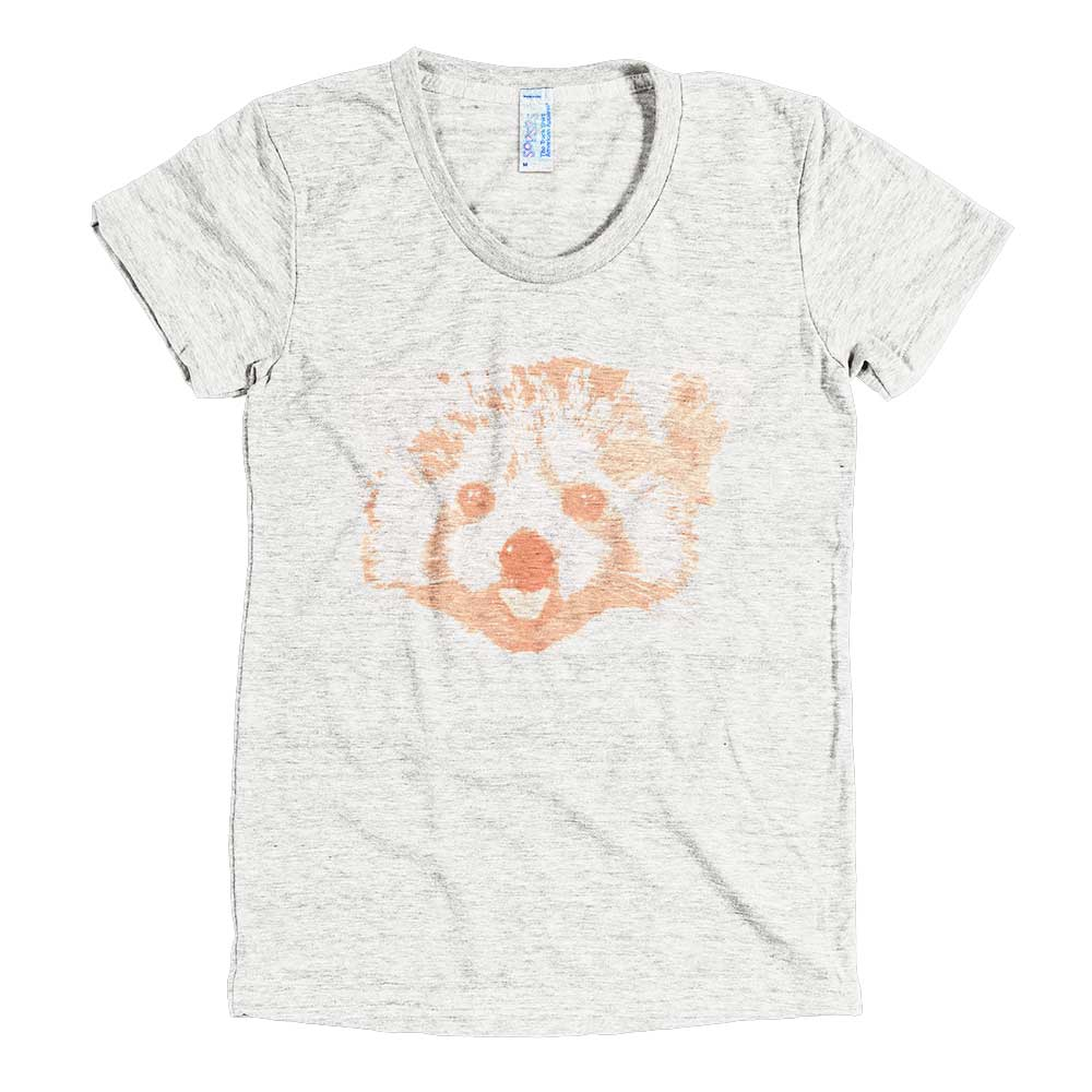 Red Panda Women - Tri-Oatmeal