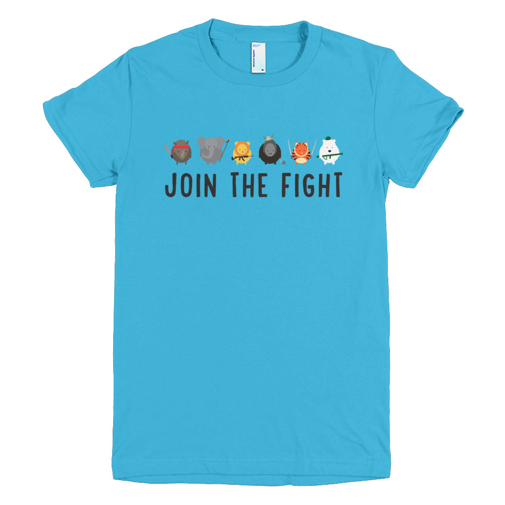 Join the Fight Women - Turquoise