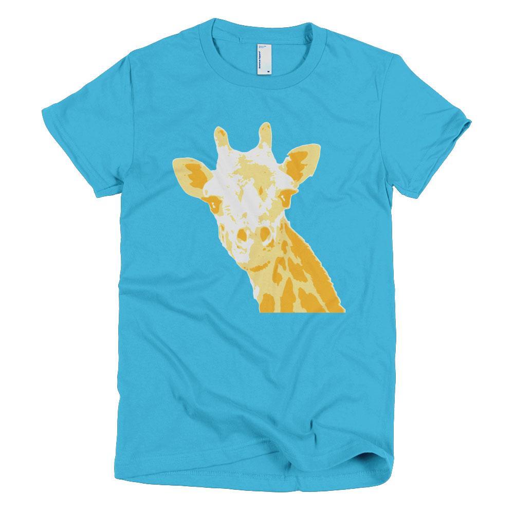 Giraffe Women - Turquoise
