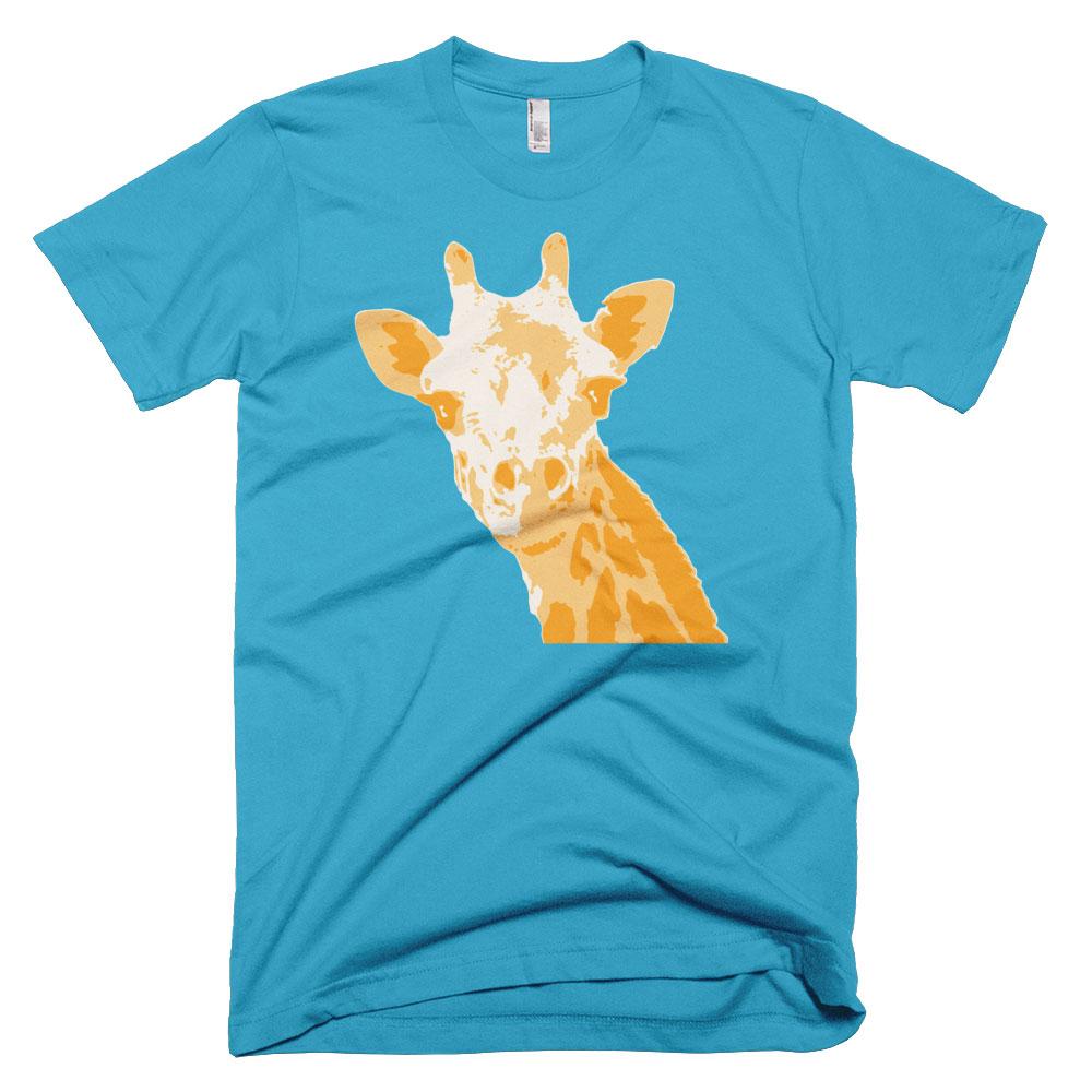 Giraffe Mens - Turquoise