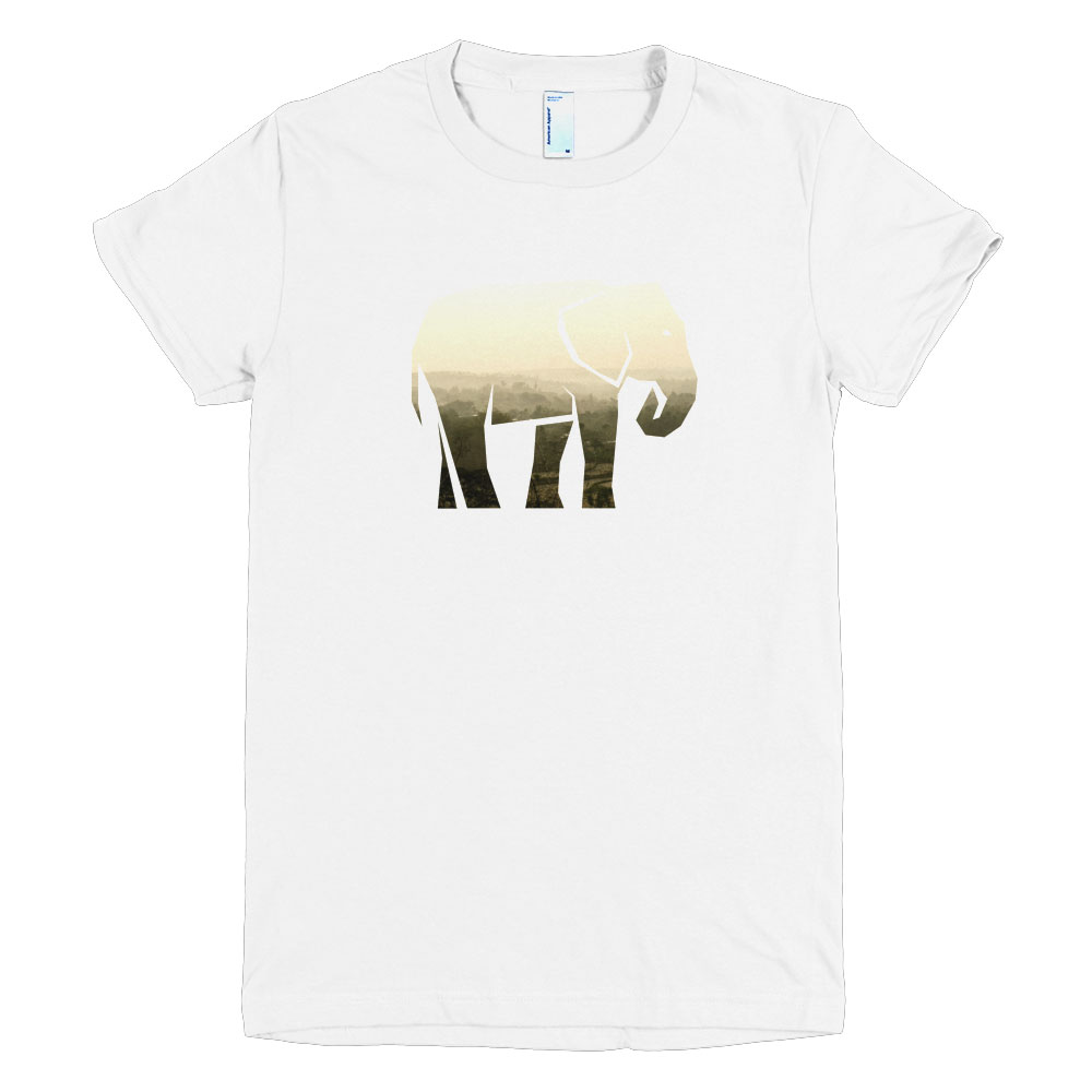 Elephant Habitat Women - White