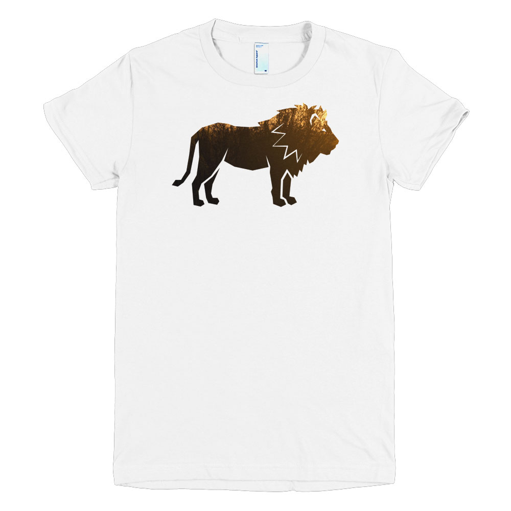 Lion Habitat Women - White