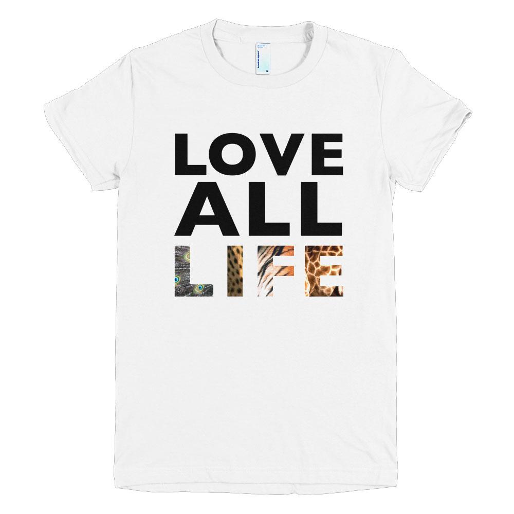 Love All Life Women - White