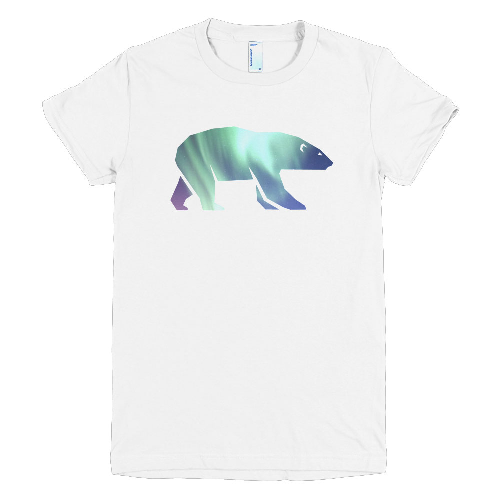 Polar Bear Habitat Women - White
