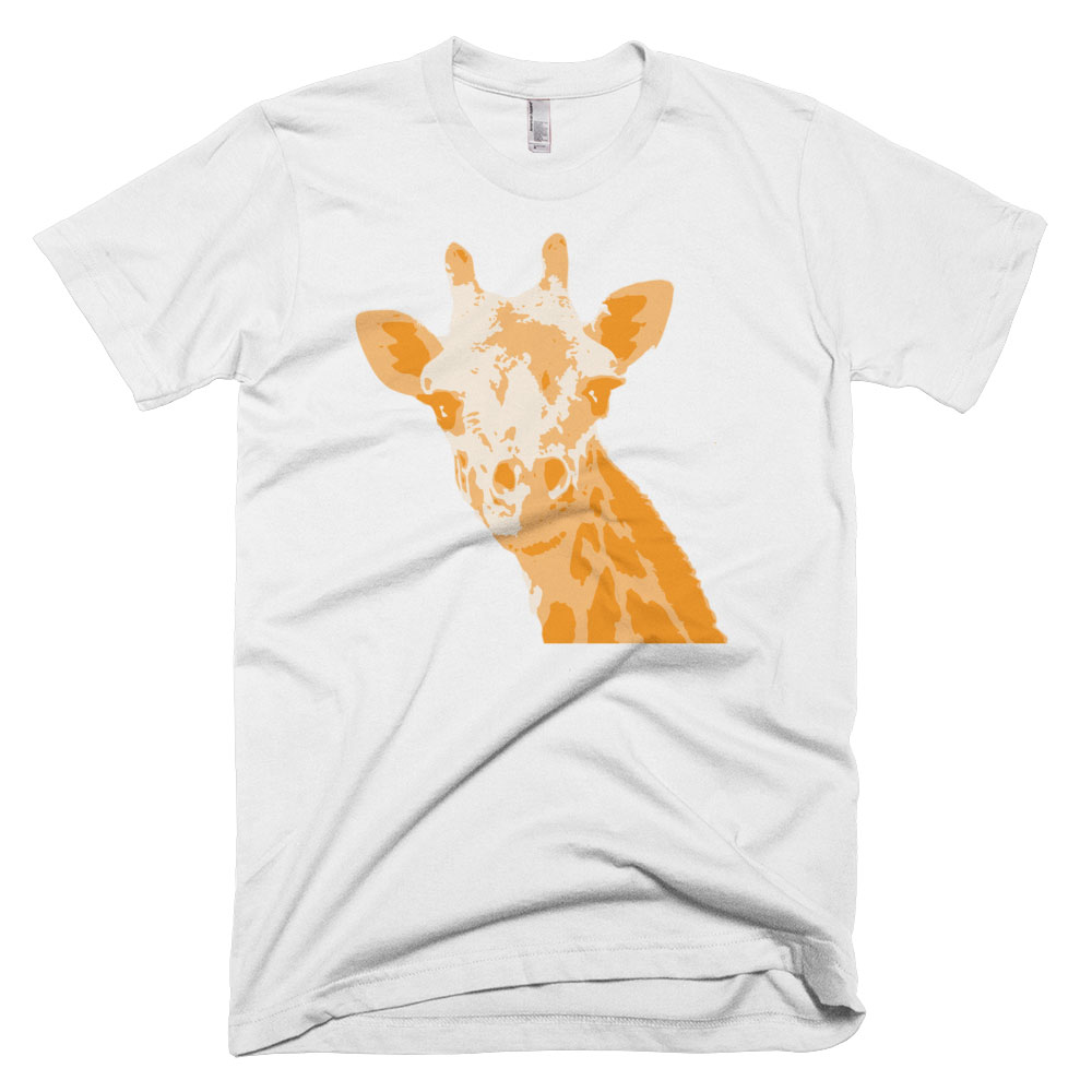 Giraffe Mens - White