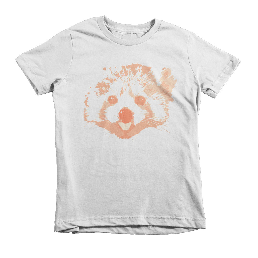 Red Panda Kids - White