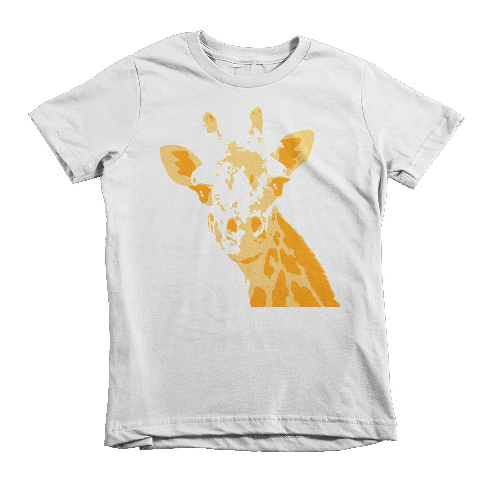 Giraffe Kids - White
