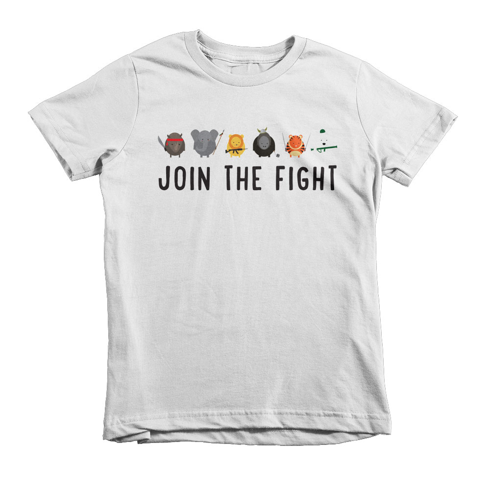 Join the Fight Kids - White