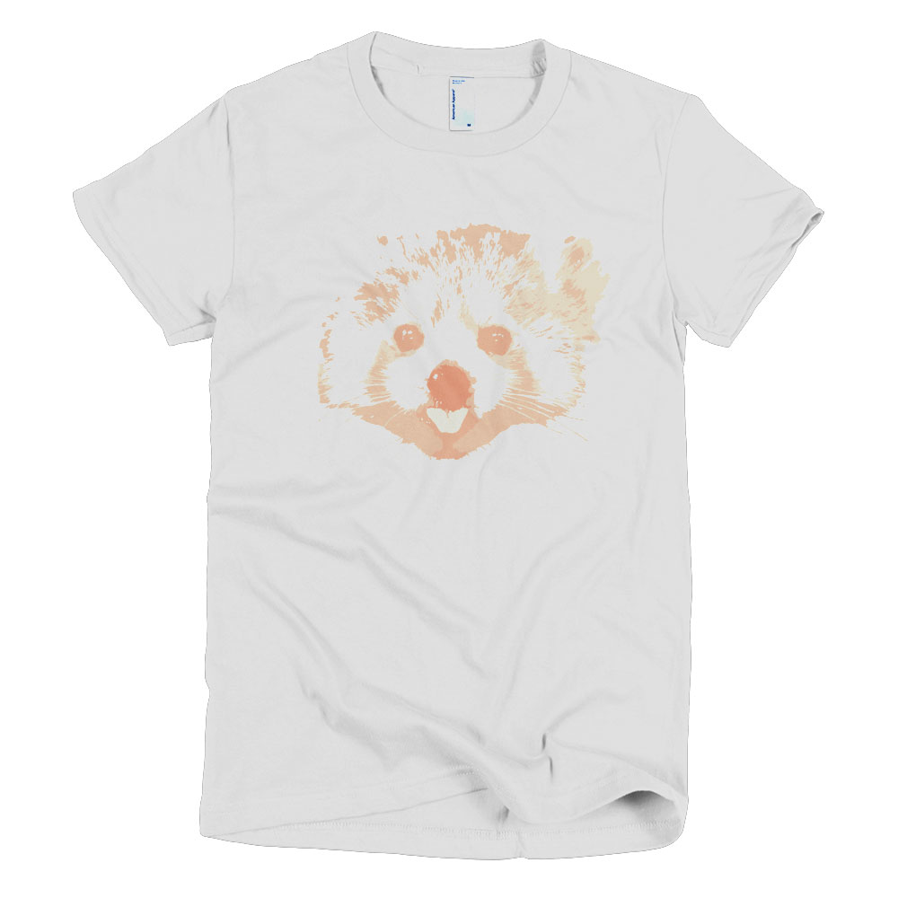 Red Panda Women - White