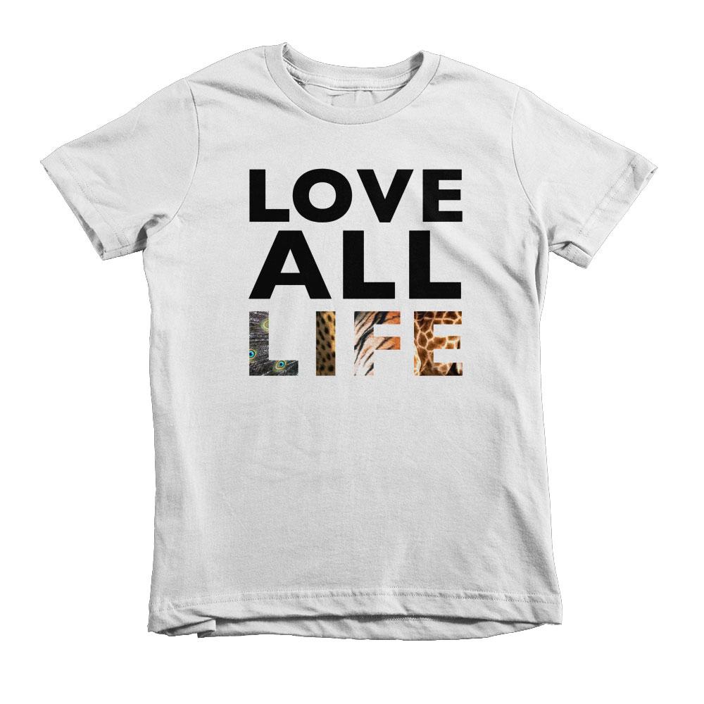 Love All Life Kids - White