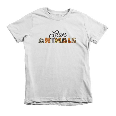 Save Animals Kids - White