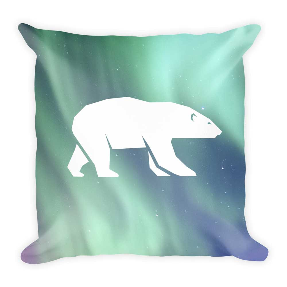 Polar Bear Pillow - Habitat