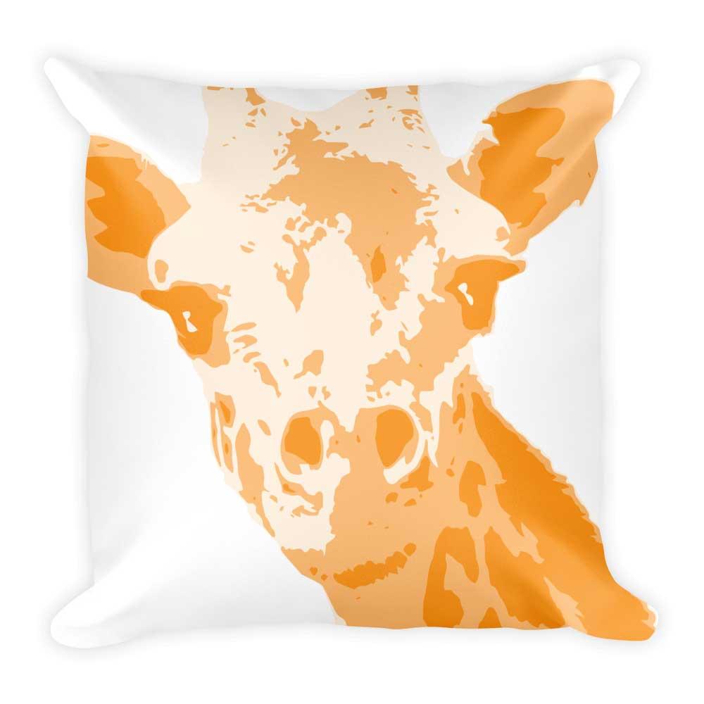 Giraffe Pillow - White