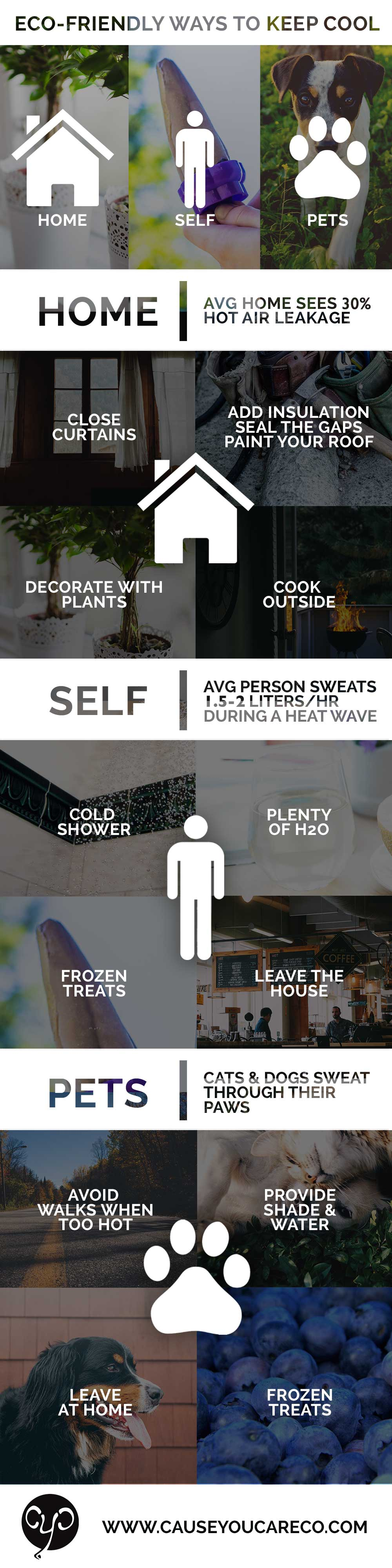Eco-Friendly Ways to Keep Cool | Cause You Care
