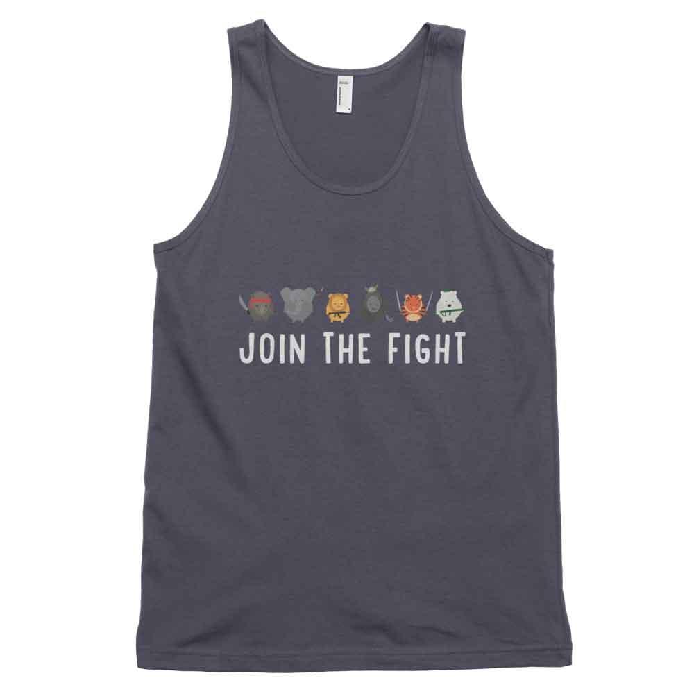 Join the Fight Tank - Asphalt