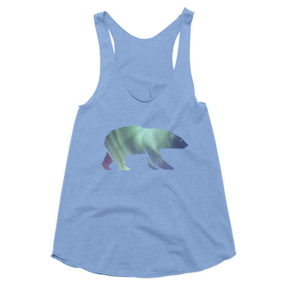 Polar Bear Habitat Tank Women - Habitat Athletic Blue