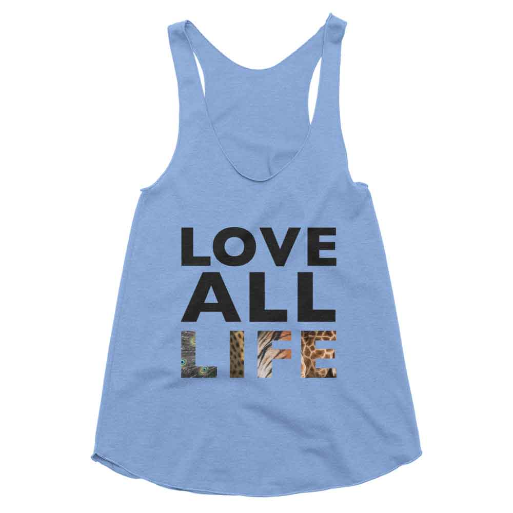 Love All Life Tank Women - Athletic Blue