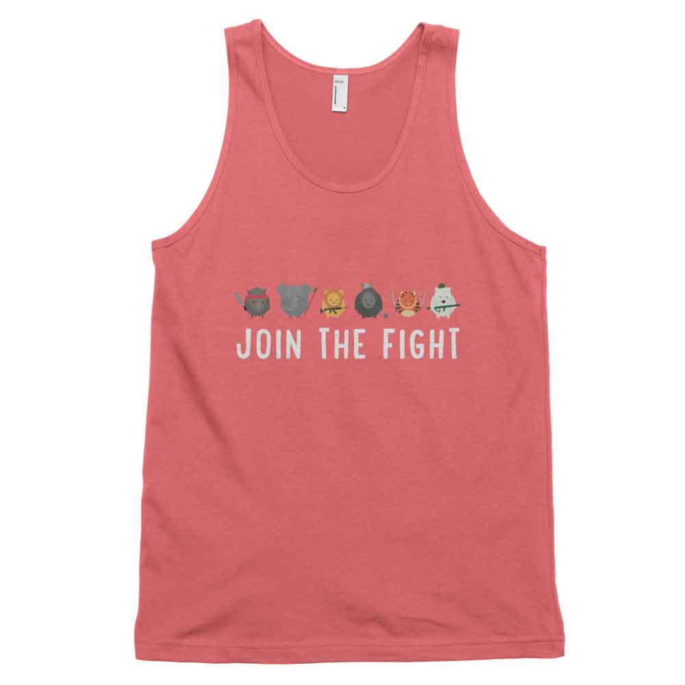 Join the Fight Tank - Coral