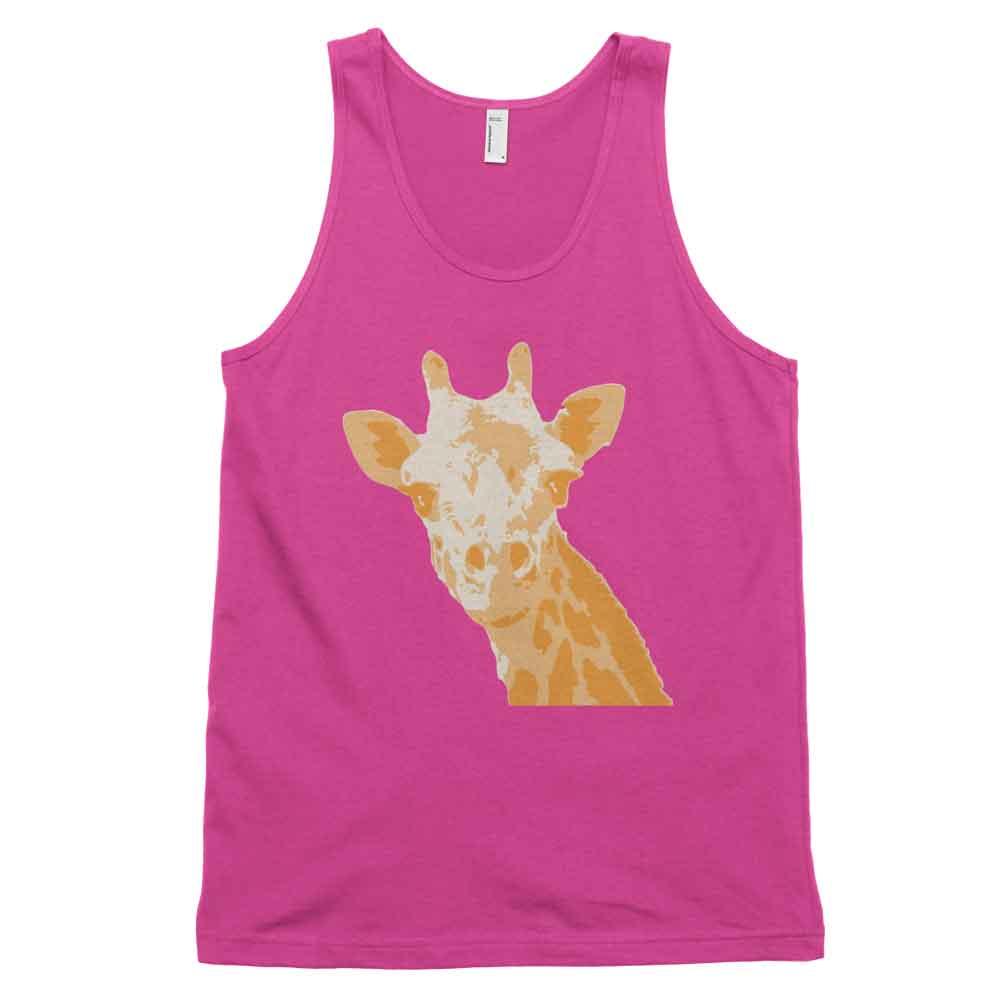 Giraffe Tank - Fuchsia