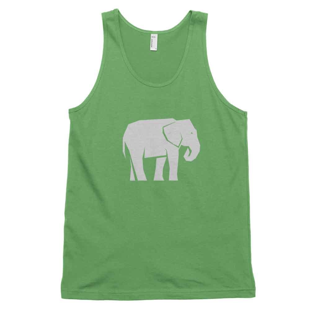 Elephant Habitat Tank - White Grass
