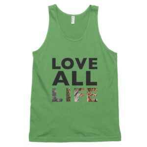 Love All Life Tank - Grass
