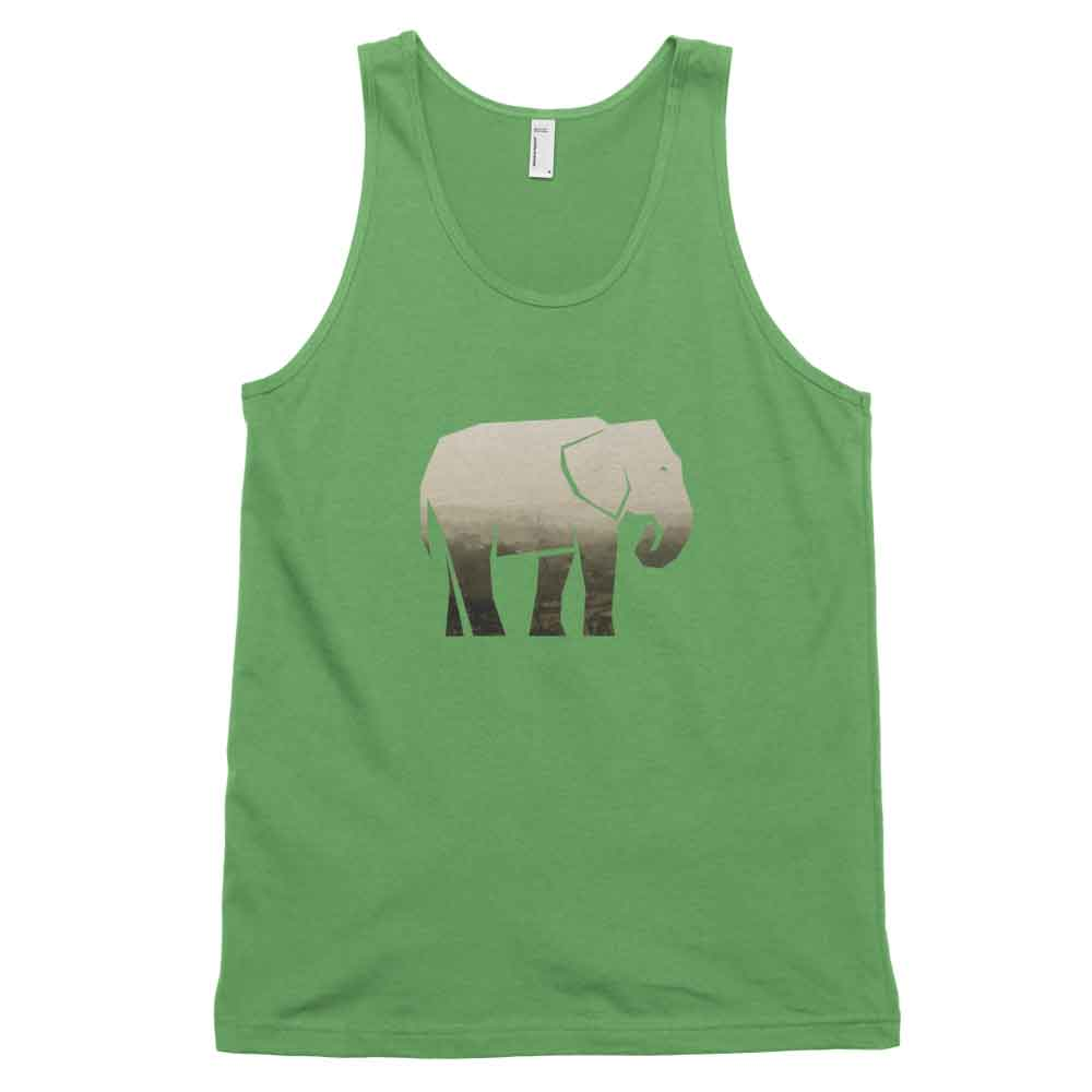 Elephant Habitat Tank - Habitat Grass