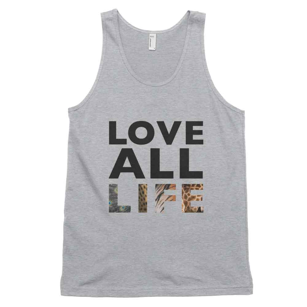 Love All Life Tank - Heather Grey