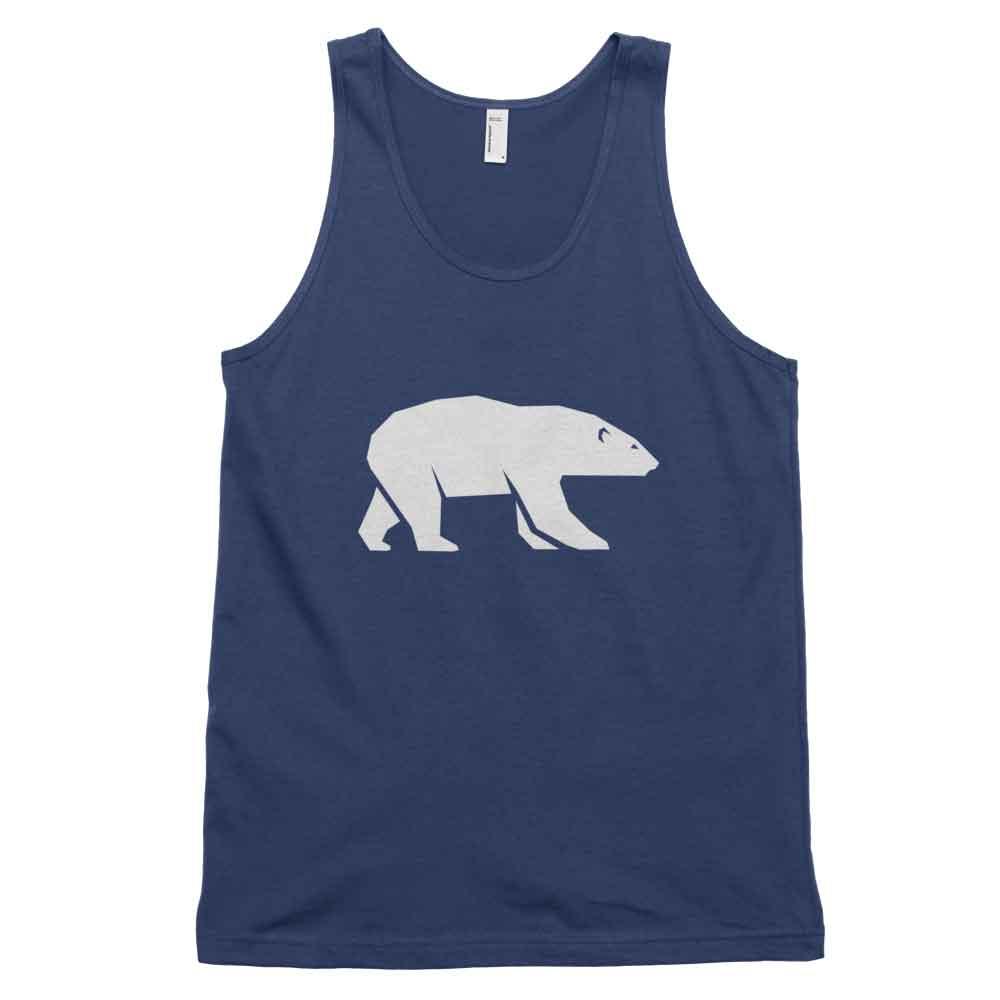 Polar Bear Habitat Tank - Navy