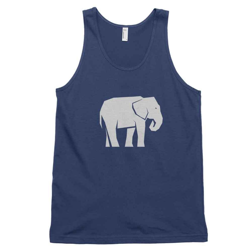 Elephant Habitat Tank - Navy