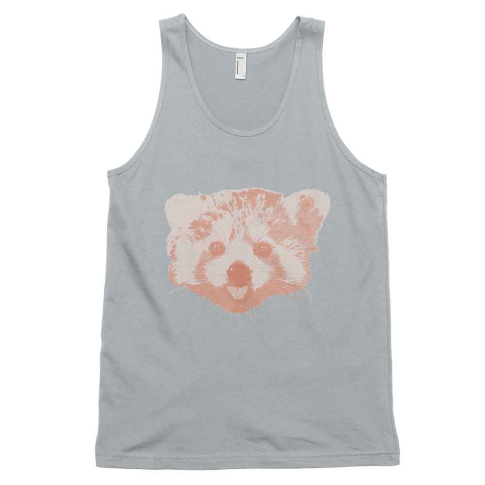 Red Panda Tank - New Silver