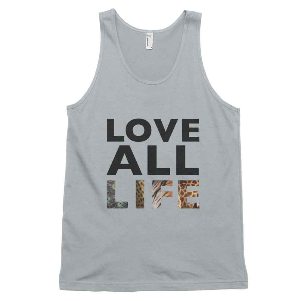 Love All Life Tank - New Silver